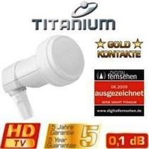 Lnbf Single Ku 0.1 Db Smart Titanium - By Beto Meu Box
