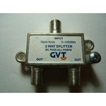 Divisor Passivo 2 Vias 2 Wai Splitter Net Sky Gvt Claro