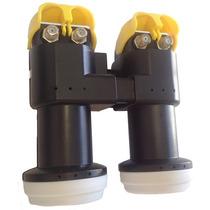 Kit Lnb Carona 2x2 Duplo 4 Saídas (2 60w + 2 70w) Receptor