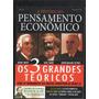 Os 3 Grandes Teóricos Adam Smith Karl Marx John Mayard K. D9