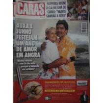 Revista Caras Xuxa E Juno Festejam Um Ano De Amor Em Angra