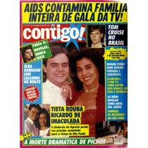 Revista Contigo! Nº 729-7 De Setembro De 1989-editora Azul