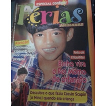 Contigo Kids 1998 Chiquititas Cássio Scapin Luan Ferreira