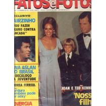 Fatos E Fotos 1973.suzana Vieira.dias Gomes.moreira Da Silv