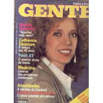 Fatos E Fotos 1981.maria Gabriela.silvinho.catherine Deneuve