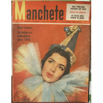 Manchete 1955 - Pina Brunette / Calendario / Vedetes