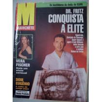 Revista Manchete - Dr.fritz,vera Fischer,elvis - 23/08/97