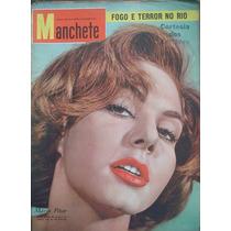 Manchete No.385. Setembro De 1959.mária Pétar Na Capa