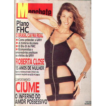 Manchete 1994.roberta Close.fernando Henrique.barbra Magaldi