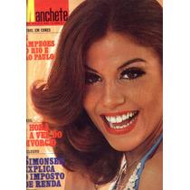 Manchete 1975.sandra Bréa.londrina,olly.flamengo.tango.moda
