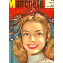 Revista Manchete 65 (bloch-1953)-capa: Vedete Marina Marcel