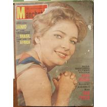 Manchete 1961 - Miss Alda / Cinema / Garrincha / Hebe / Copa