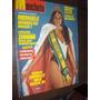 Manchete 1985 Miss Brasil Mengele