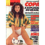 Manchete 1986.claudia Raia.seleção.onassis.seleção.copa.moda