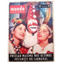 B3390 O Mundo Ilustrado Nº 10 De 1958 Carnaval Em Ótimo Esta