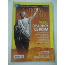 National Geographic Brasil #174 Ano 2014 Nero O Bad Boy Roma