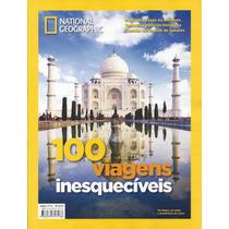 Revista National Geographic 100viagens Inesquecíveis Lacrada