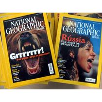 Revistas National Geographic Brasil / 6,00 Cada