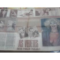 Recorte Vedetes 1977 Virginia Lane Wilza Carla Marivalda