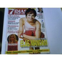 Revista 7 Dias Com Você Nº26 Nov03 Astrid Fontenelle