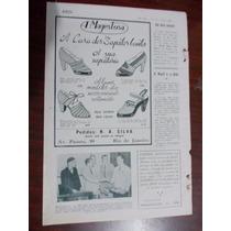 Propaganda Antiga - A Magestosa Casa Dos Sapatos..belmont