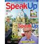 Revista Speak Up Woody Allen Peter Dinklage Com Cd