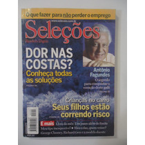 Seleções #março 2002 Dor Nas Costas - Antônio Fagundes