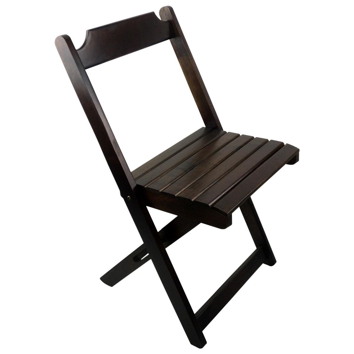 Conjunto De Cadeira E Mesa Dobrável Em Madeira 70x70 Imbuia R$ 299  #27201E 1200x1200