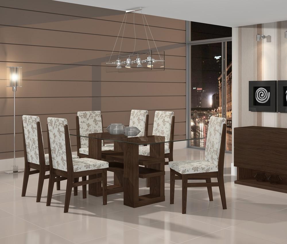 Copa De Sala De Jantar ~ conjunto de mesa lopas copacabana tampo madeirado mdf vidro Car Tuning