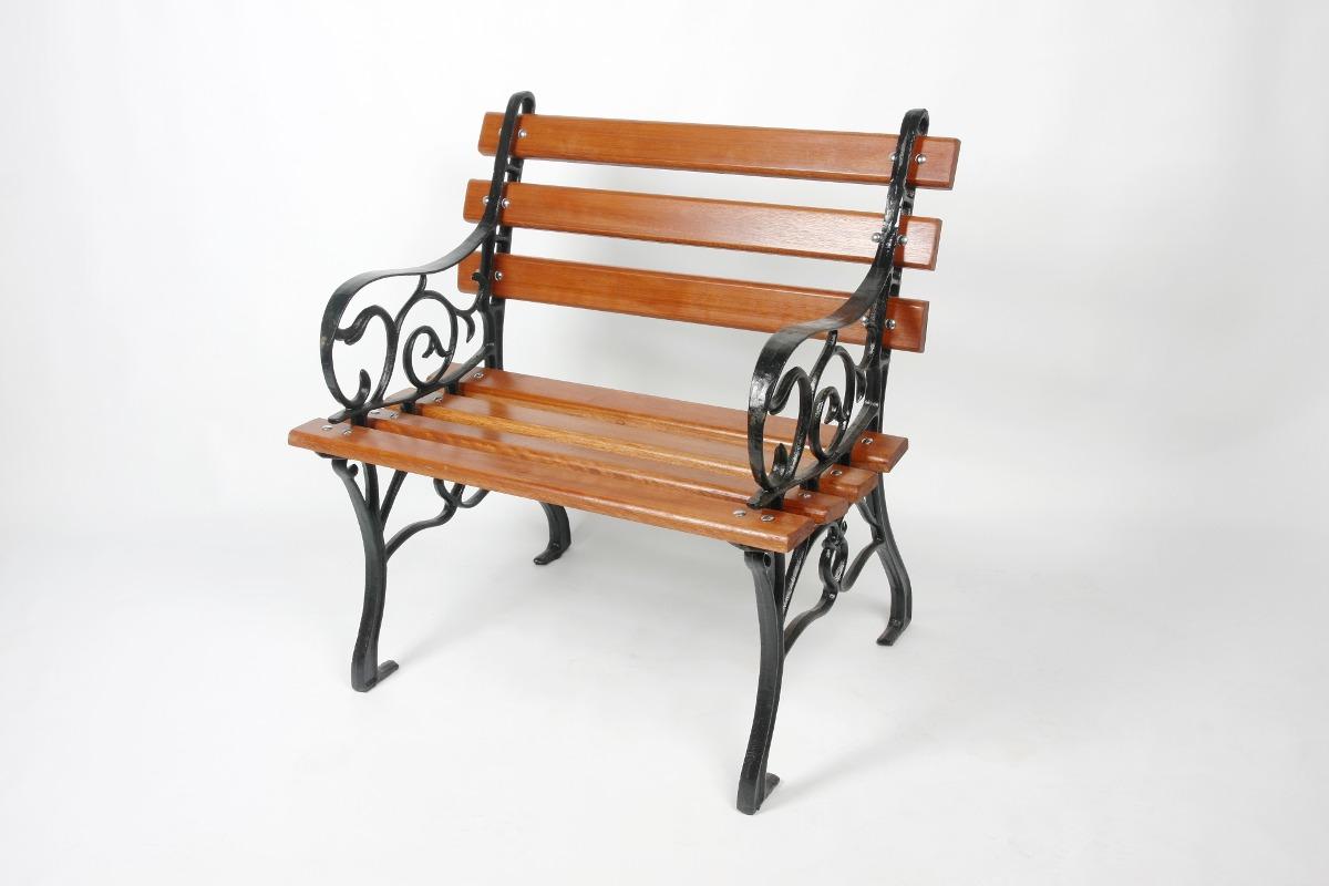 Conjunto Francês Jardim Madeira Ferro Fundido 3 Banco 1 Mesa R$ 880  #B0531A 1200x800