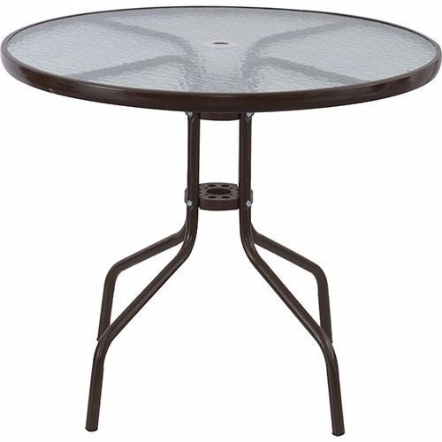 mesa jardim ombrelone:Pin Conjunto Para Jardim 4 Cadeiras 1 Mesa 1 Ombrellone Bel Fix Miami