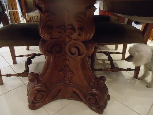 Cadeiras Para Sala De Jantar Em Bh ~ Conjunto Sala De Jantar Com 8 Cadeiras Em Veludo  R$ 6800,00 no