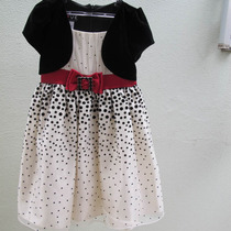 Vestido De Festa Infantil Importado Love 06 Anos