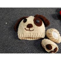 Conjunto De Crochet Para Recém Nascido - (new Born)
