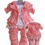 Conjunto Infantil Para Meninas Baby Wear