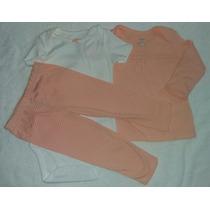 Kit Conjunto 3 Peças Body Blusa E Calça Carter