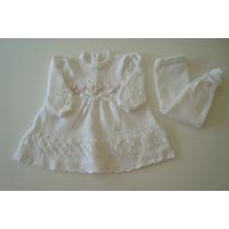 Saída De Maternidade Calça Com Vestido Vermelho Trico Lã