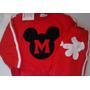 Conjunto Mickey Tam 1-2 Pronta Entrega