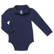 Body De Camisa Polo Marca Koala Baby Importado Tamanho 6 M
