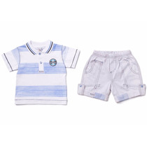 Conjunto Grêmio Infantil,camisa + Polo Oficial Licenciado