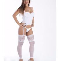 Espartilho Super Sexy Branco