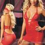 Lingerie Sexy Body Em Tule E Renda C120
