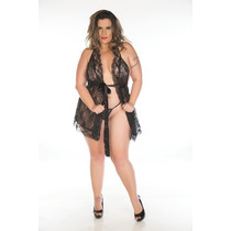Camisola Luxo Plus Size - Pimenta Sexy - Frete R$16,00