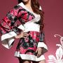 Body Sexy Kimono Japones C137 Em Cetim