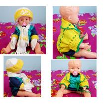 Lote De Inverno Para Bebê 4 Peças Novas Por 39,99