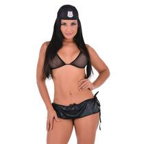 Mini Fantasia Policial Sexy