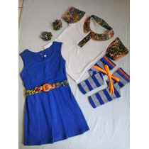 Fantasia ,roupa Da Chiquititas 2ao 16 Meia E Acessorios *