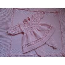 Conjunto Maternidade Manta - Vestido E Calça