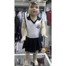 Vestido Polo Santos Bebê Torcida Baby