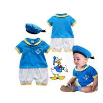 Conjunto Infantil Marinheiro Pato Donald Fantasia 80